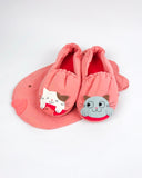 Fishy slippers (Light Pink)