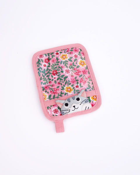 Paws Up Pass Case (Pink Poppies)
