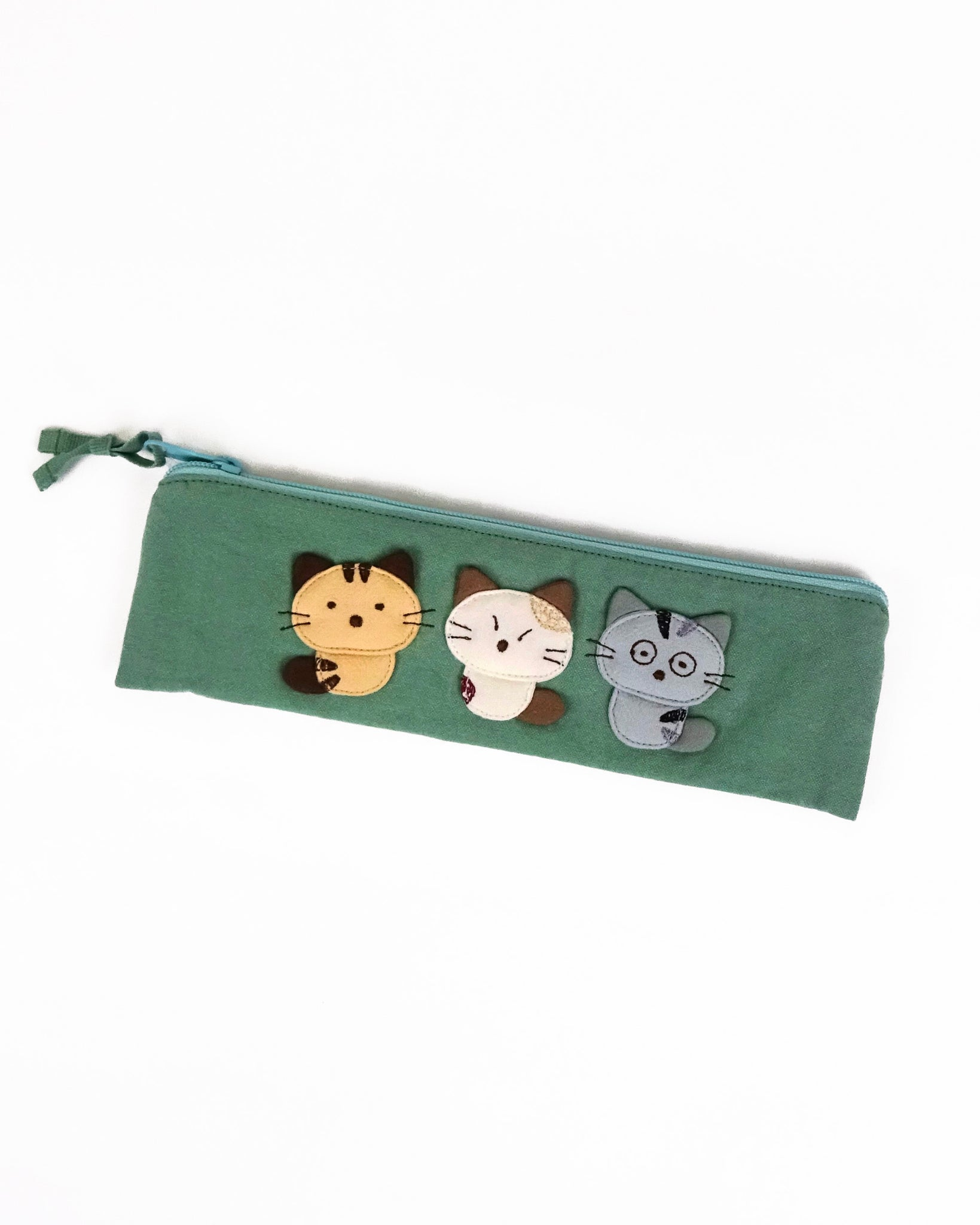 Cara Friends Pen Pouch (Sage Green)