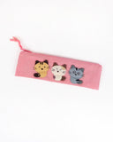 Cara Friends Pen Pouch (Pink)