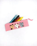 Cara Friends Pencil Pouch (Pink)