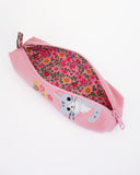 Little Peep Pen Pouch (Pink Poppies)