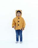 Kitten Cape Coat (Yellow)