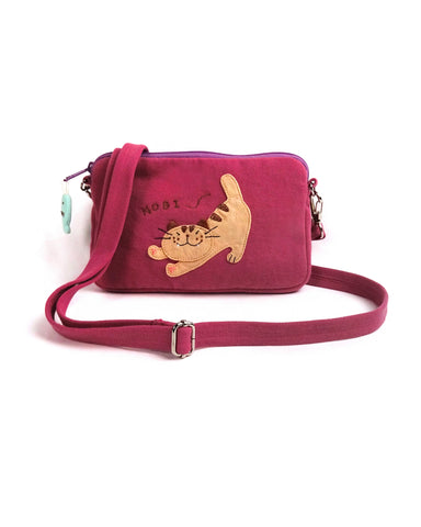 Nobi crossbody bag (Dull Rose)