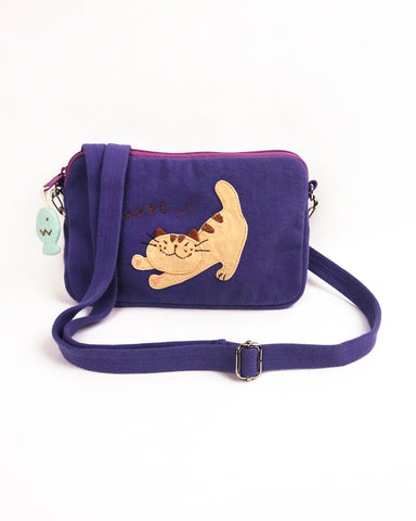 Nobi crossbody bag (Purple Blue)
