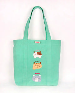 Cara Friends Large Tote (Jade)