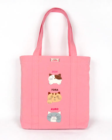 Cara Friends Large Tote (Pink)