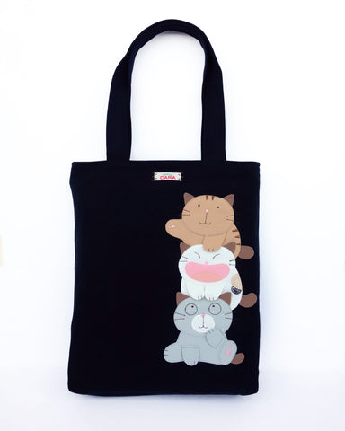Best Buds Tote (Black)
