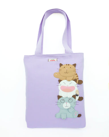 Best Buds Tote (Lilac)