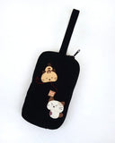 Sew Cute Wristlet (Black)