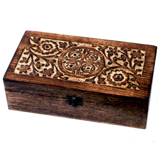 Aromatherapy Box - Floral (holds 24+1) - Me Organics