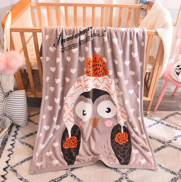 Fleece Cartoon Blanket