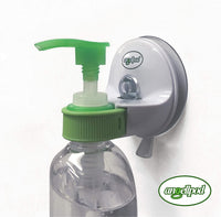 Hygienic, Adjustable, Place Anywhere Wall Mounted Pump Bottle Holder. - Me Organics