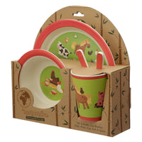 Farm Reusable Kids Dinner Set - Me Organics