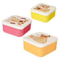Set of 3 Pug Lunch Boxes - Me Organics