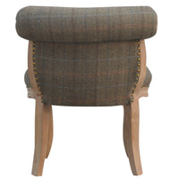 Petite Multi Tweed French Chair - Me Organics