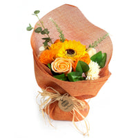 Standing Soap Flower Bouquet - Orange - Me Organics