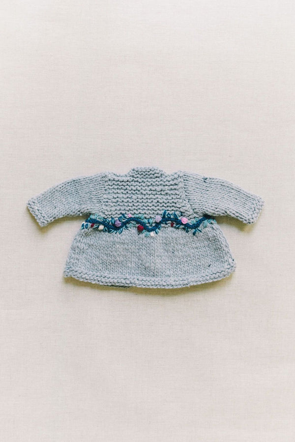 Baby's Flor Coat | Flower Motif Embroidery