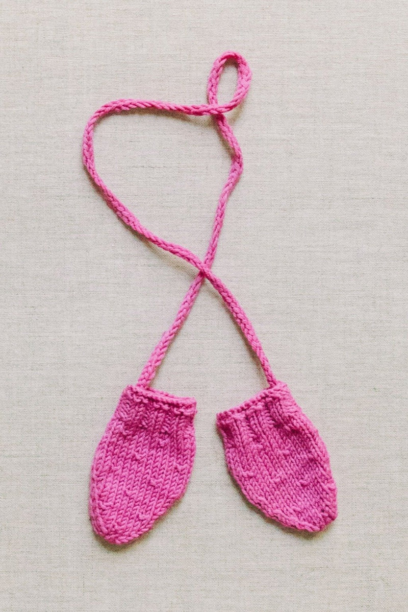Reiets heirloom mittens - pink