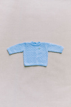 Blue Baby Sweater | Reiets