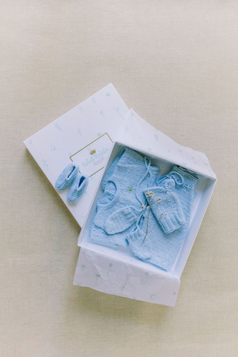 Reiets Heirloom Gift Set | Baby Blue