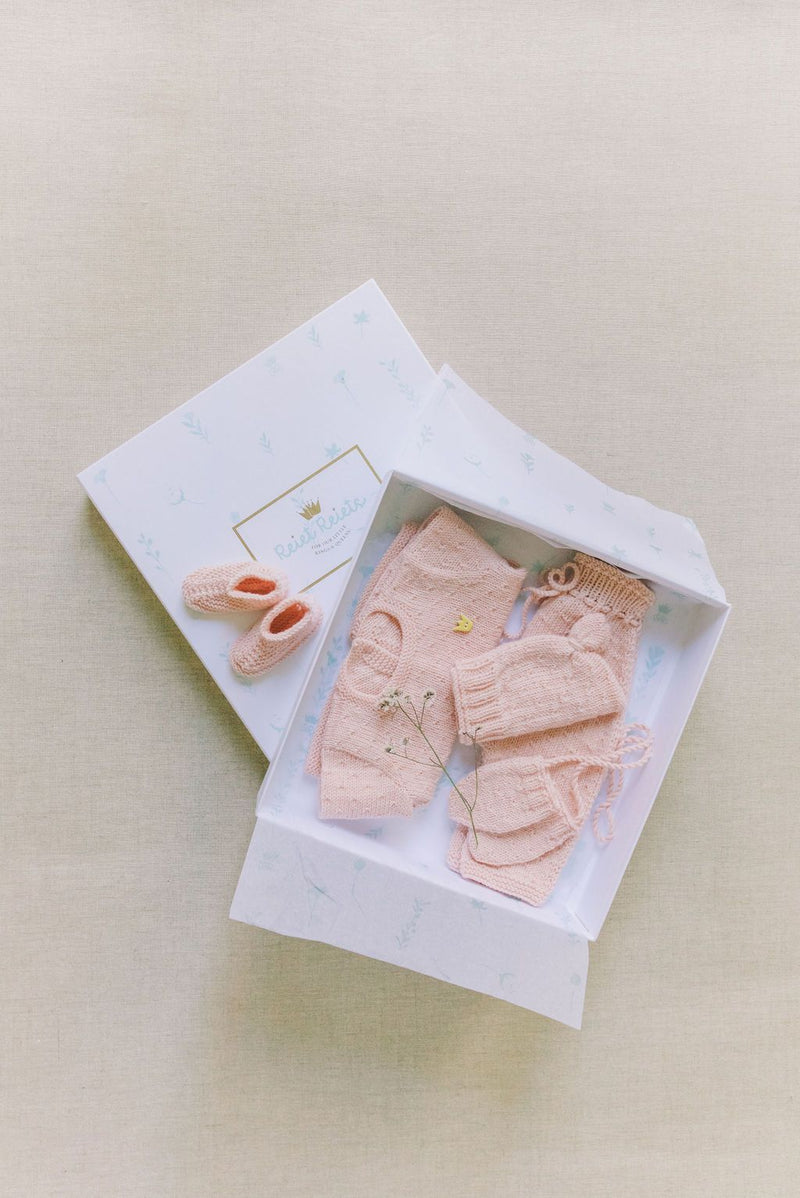 Reiets Heirloom Gift Set | Baby Peach