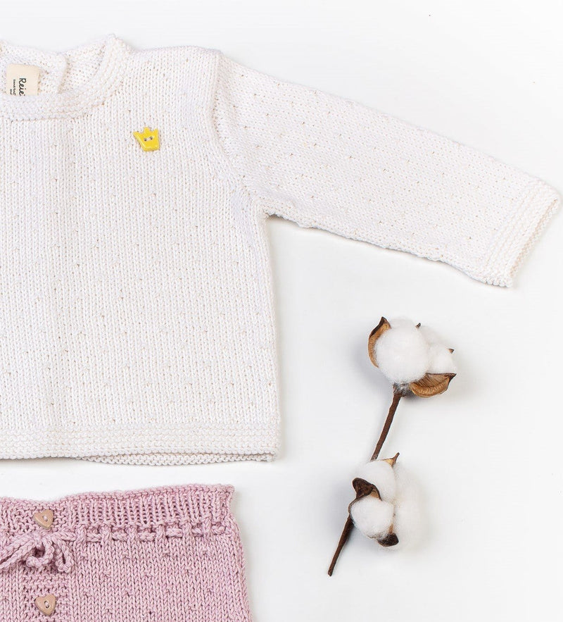 Reiets Gioia Sweater & Shorts Set - Rose