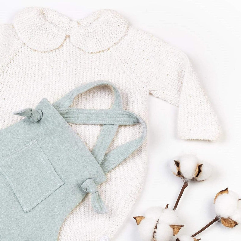 Reiets Vicens Bodysuit Long Sleeve Set - Mint