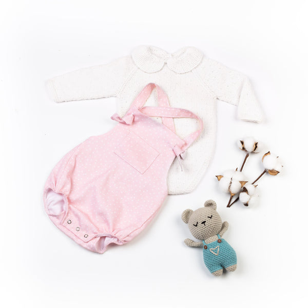 Reiets Vicens Bodysuit Long Sleeve Set - Rose
