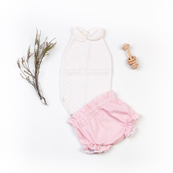 Vicens Bodysuit & Shorts Set - Rose