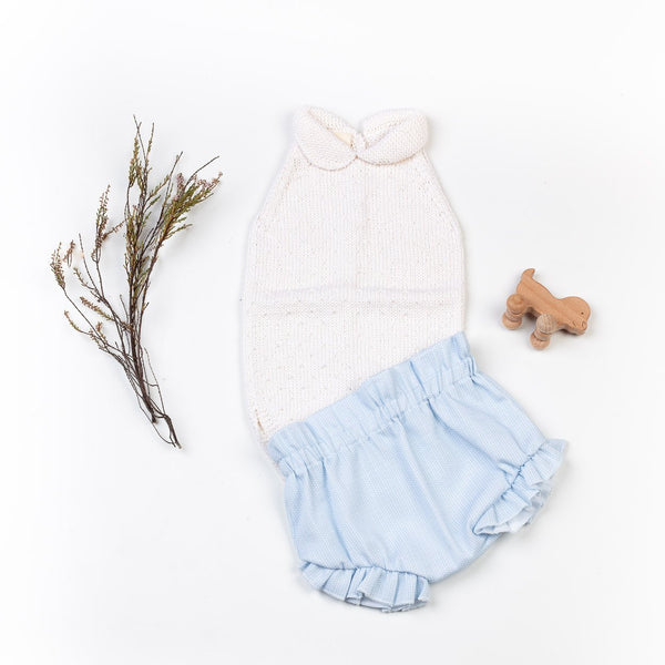 Reiets Vicens Bodysuit & Shorts Set - Azul