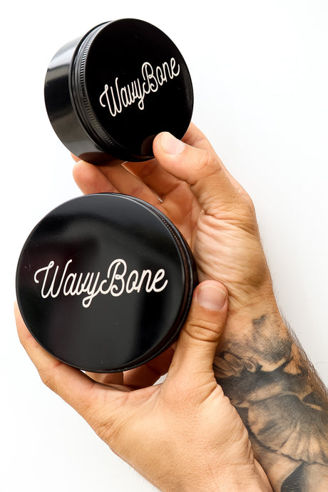 WavyBone Reusable Coffee Tin
