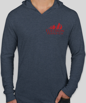 Tri-Blend - Long Sleeve Hooded Shirt