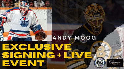 Andy Moog Exclusive Signing and Live Event!