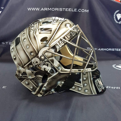 New Jonathan Quick Legacy edition Goalie Mask!