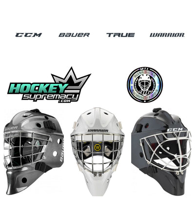 Goalie Mask Collector partners with Hockey Supremacy for CCM / Bauer / Warrior CSA certified masks