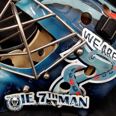 "FEATURED CUSTOM MASK: ""We Are the 7th Man X Seattle Kraken""!"