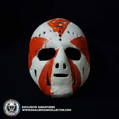 Doug Favell 1970 First-Ever Painted Goalie Mask: A Conversation Piece of History