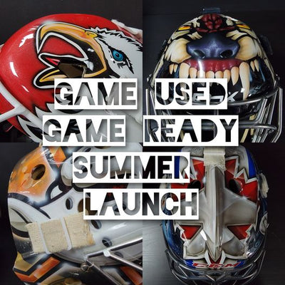 GAME USED & GAME READY MASKS LAUNCH EVENT!