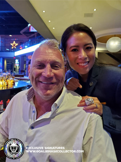 STORY: Hanging out with BRETT HULL AND GRANT FUHR in St. Louis