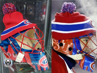 JOSE THEODORE SIGNED MASK WITH TOQUE IN THE SHOWROOM!