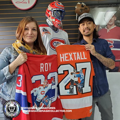 NEW ARRIVALS: ART EDITION GOALIE JERSEYS - HAND PAINTED BEAUTIES