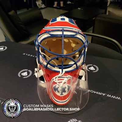 PATRICK ROY WORN GOALIE MASK: SOLD for $33,000 USD!