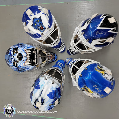 Leafs Greatest Goalie Masks