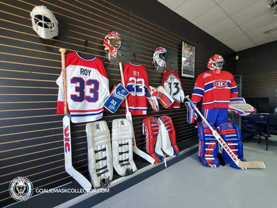 Ultimate Patrick Roy Signed And Worn Memorabilia Collection