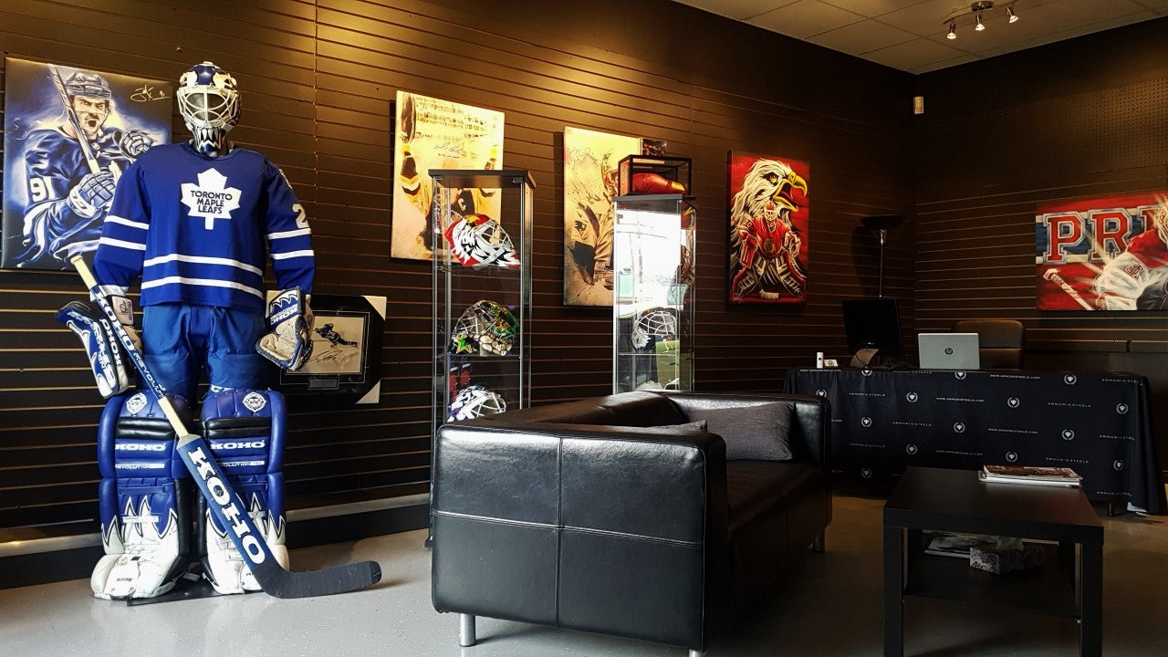 Goalie_Mask_Collector_showroom_store_VIP