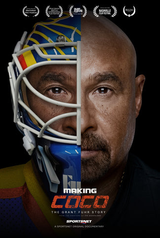 Grant_Fuhr_Making_Coco_Goalie_Mask_Collector