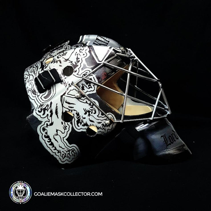 Byron Dafoe Unsigned Goalie Mask Los Angeles