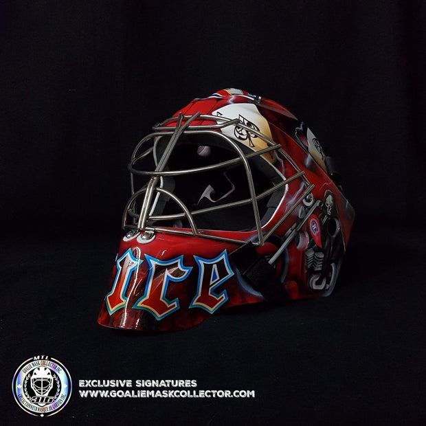 CAREY PRICE SIGNED GOALIE MASK AUTOGRAPHED MONTREAL 2009-10 GRIM REAPER