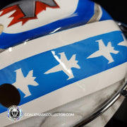 Connor Hellebuyck Signed Goalie Mask Winnipeg Custom AS Signature Edition
